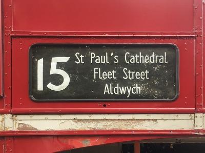 ロンドンバスの経路