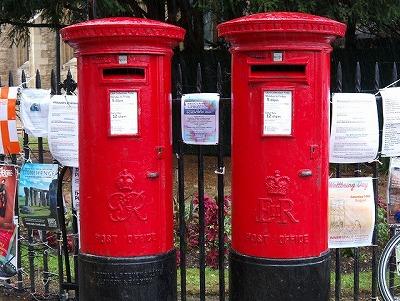 イギリスの郵便ポスト